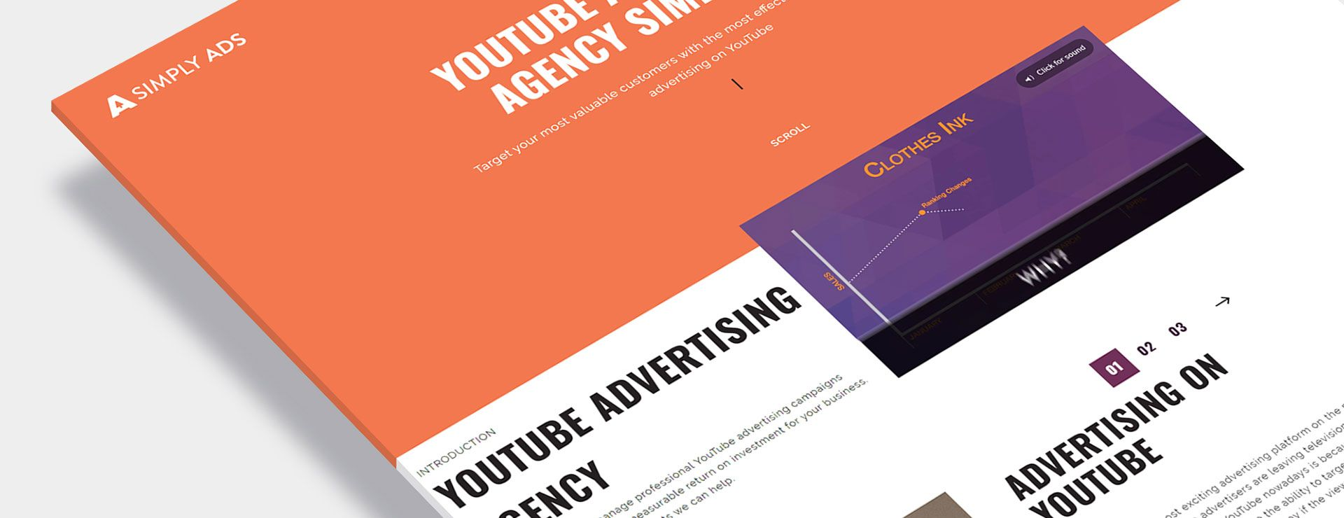 Simply Ads Website Design