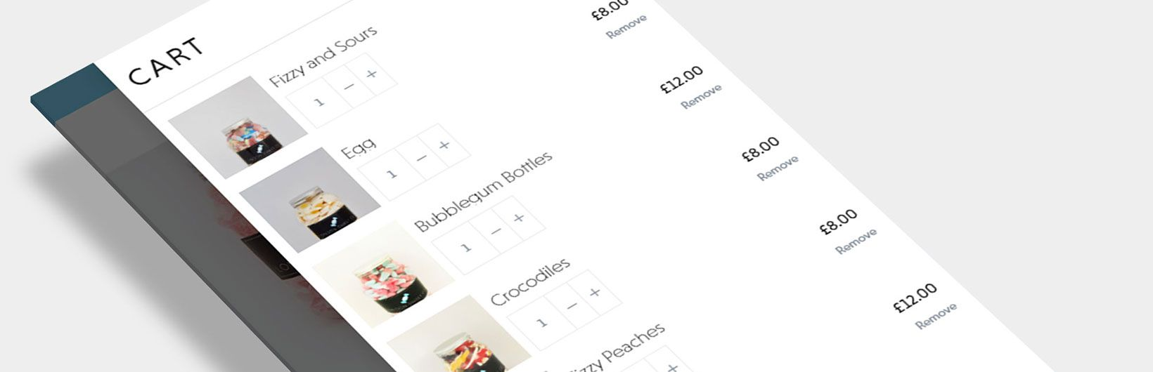 London Sweet Co. WooCommerce Design