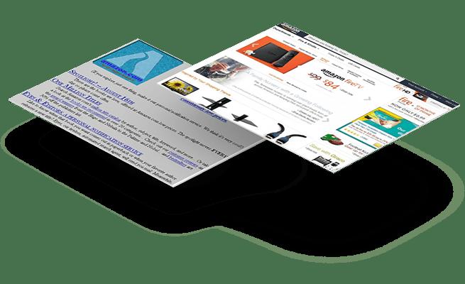 Website Design - 20 year challenge - Amazon
