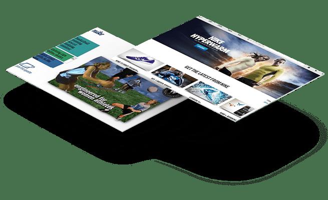 Website Design - 20 year challenge - Nike