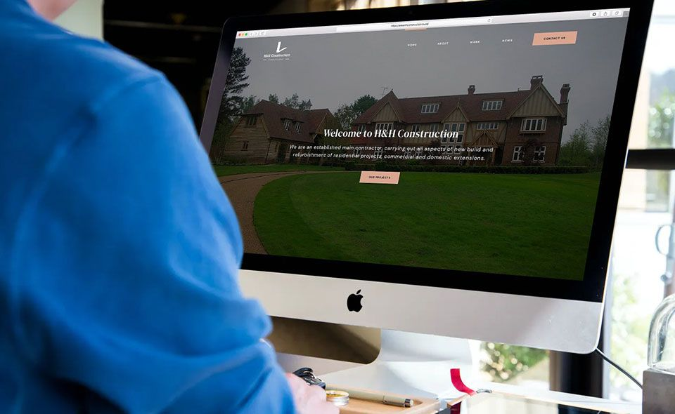 HH Construction - Website Design Case Study