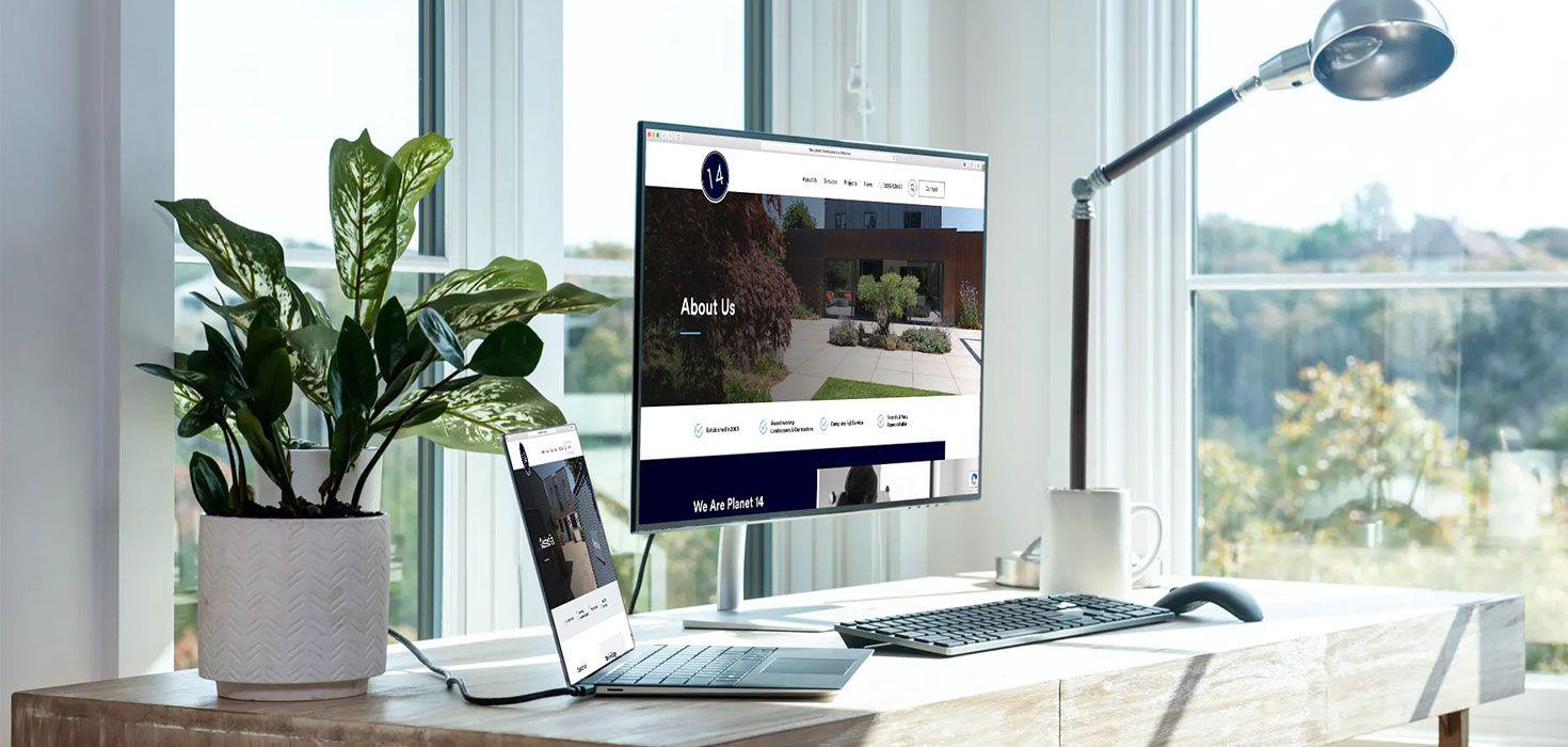 Planet 14 Landscapes - Web Development Project