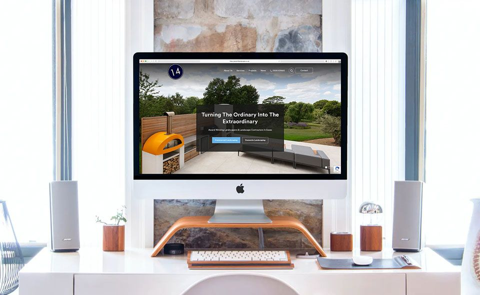 Planet 14 Landscapes - Web Development Case Study