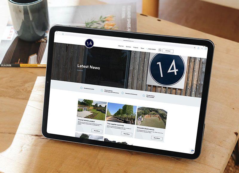 Planet 14 Landscapes - Web Agency Case Study