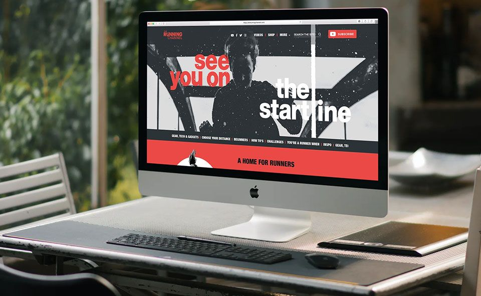 The Running Channel - Web Agency Case Study